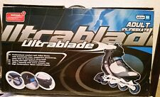 UltraBlade adult inline skates size 9