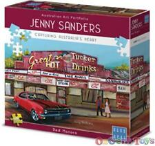 Red Monaro Blue Opal Jigsaw Puzzle by Jenny Sanders