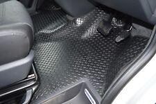 VW Transporter T5  & T6 HEAVY DUTY Rubber floor mats - Full Front Well Coverage
