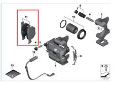 Genuine Rear Brake Pads M3/M5/M6 PN: 34212284296 NEW UK