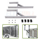 2x Universal Cargo Aluminum Side Wall Mount Ladder Rack Fit For Enclosed Trailer