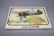 ZF759 Plastikovy Models 1/72 maquette avion militaire Kit N° 23 Letov S.231