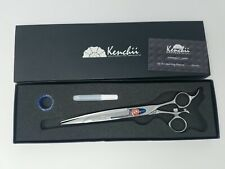 """Kenchii Grooming - Five Star 8"""" Swivel Curved Cuts Great Pet / Dog Hair Shear"""