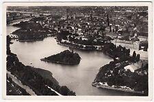 DENMARK - Kobenhavn / Copenhagen - View Over Ramparts - 1939 Real Photo postcard