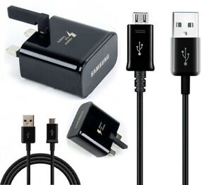 Genuine Samsung Fast 2A Charger OR USB Cable for Galaxy Phone / Note / Tablet