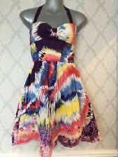 Lipsy Cotton Sleevless Dress Size 8