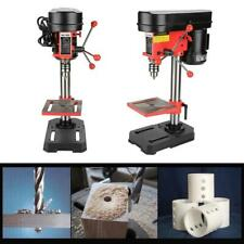 350W 5 Speed Electric Bench Drill Press & Table Stand Chuck Woodworking Machine