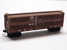 N Scale - Micro Trains Kadee - Cattle Stock Car Train