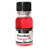 Scented Fragrance Oils For Home Oil Warmers Burners Diffuser- 10ml STRAWBERRY