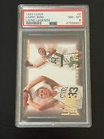 1993-94 Fleer Living Legends Larry Bird #2 PSA 8 Boston Celtics ONLY 17 Better