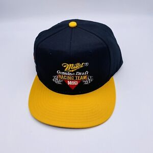 MGD Miller Genuine Draft Racing Team Rusty Wallace # 2 NASCAR Hat Cap New Black