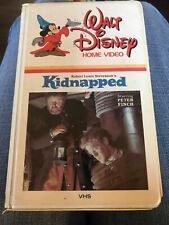 WALT DISNEY Vintage Home Video Kidnapped White Clam Shell