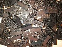 LEGO® 100 Bausteine Steine bricks 2x4 schwarz 3001 basic classic NEU