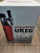 NEW GrowlerWerks uKeg Go Carbonated Growler and Craft Beverage Beer Dispenser