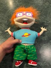 Vintage 1997 Rugrats Nickelodeon Scared Chuckie Finster - Shakes & Vibrates..!!