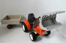Playmobil farm/forest/country/construction: Tractor & trailer NEW