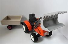PLAYMOBIL FERME/Forest/PAYS/Construction: Tracteur et Remorque NEUF