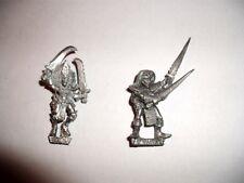 Clásico fuera de imprenta Marauder miniaturas -- Bruja Elfo -- Mujer oscuro Elfo Guerrero De Metal #2