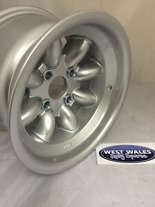 Revolution 8 Spoke Classic - Ford Group4 Escort - 8x13 Rally Alloy Wheel Silver