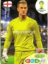 Adrenalyn XL-Joe Hart-inglaterra-FIFA World Cup Brazil 2014 WM