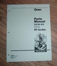 Onan 132-0277 parts list.