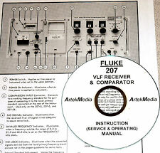 Fluke 207 VLF Receiver Operating & Service Manual