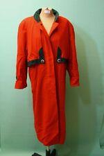 Schöner Loden Mantel rot Vintage-h.moser Salzburg Gr 40/L Schurwolle Damen