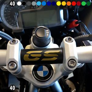 BMW R1200 R1250 GS / GSA Handlebar Decal Matt Black/Gold - 4711-0219