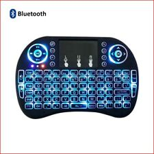 Berryku Mini Rechargeable Bluetooth Keyboard w/ Backlit - PC MAC XBOX PS IPTV Pi