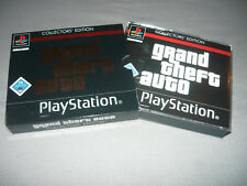 """ Grand Theft Auto Collectors Edition ""  PS1  Playstation 1  PSX  * Neuwertig *"