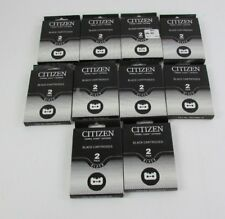 Lot of 10 Citizen Thermal Fusion Black 2 pk. Cartridges Notebook Printer II