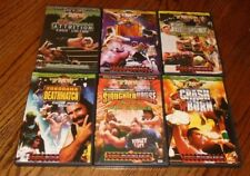 6x DVDs + inserts ~  FMW Frontier Martial Arts Japanese Wrestling ~ RARE OOP HTF
