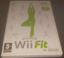 Wii Fit with a Wii Balance Board (Nintendo Wii, 2009) - European Version