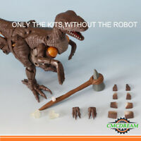COOL For War For Cybertron Kingdom Dinobot 3D Upgrade Kits Claw Stone Hammer