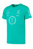 Mercedes AMG Petronas F1 Team Official Men's Race Winner T-Shirt - 2017