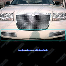 2005-2010 Chrysler 300 Stainless Steel Bumper 2.5mm Mesh Grille Grill Insert