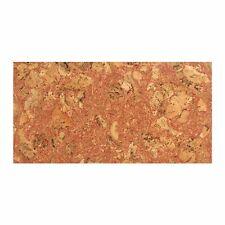 Cork Decorative Wall Tiles Natural Pattern 600x300x3mm Set of 4