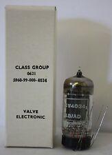 CV4034/F6067 brimar militaire imprimé double triode wire ended valve tube