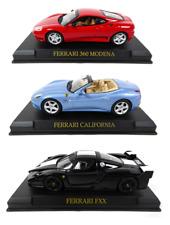 Lot de 3 Ferrari 360 Modena + FXX + California 1/43 IXO Altaya Voiture miniature