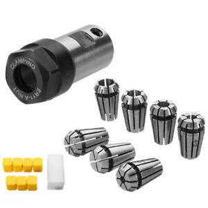 8 Pcs Spring Collet Set Holder Engraving 5mm Rod Extension Motor Shaft ER11A