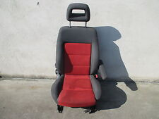 Asiento para acompañante sede VW Sharan Ford Galaxy Seat Alhambra concepto gris rojo de tela