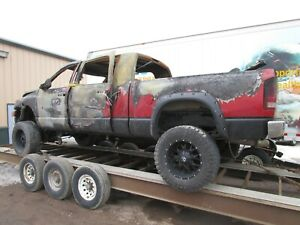 2006 Dodge Ram 2500 3500 Mega Cab Frame Assembly Megacab 2003-2008 Bare