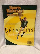 AWESOME Green Bay Packers Super Bowl XXXI The Champions Sports Illustrated, NICE