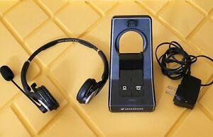 Sennheiser SD Pro2 BS-US Office ML Duo-Sided Wireless Headset W/ Power Supply