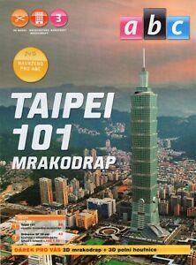 Skyscraper  Taipei 101 Czech Paper Model 1 : 1750