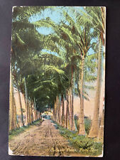 Puerto Rico ca1907-1930s, Tarjeta Postal-Post Card, usada / cancelada San Juan