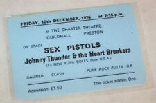 Reproduction Sex Pistols at The Charter Theatre Concert Tkt Clash & Damned 1976