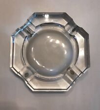 Vintage 100% Authentic Baccarat Crystal Ash Tray with Imperfections