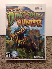 Top Shot Dinosaur Hunter Nintendo Wii Rare Kids Game Wii or Wii U