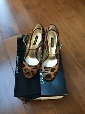 D&G Dolce&Gabbana Consternation peep toe Shoes Sz 36 1/2 EU, 4 UK  RRP £310
